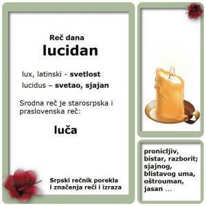 pejorativan lucidan srpski rečnik
